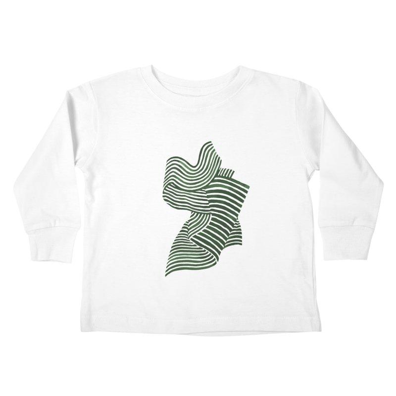Movement Kids Toddler Longsleeve T-Shirt by Laura OConnor's Artist Shop