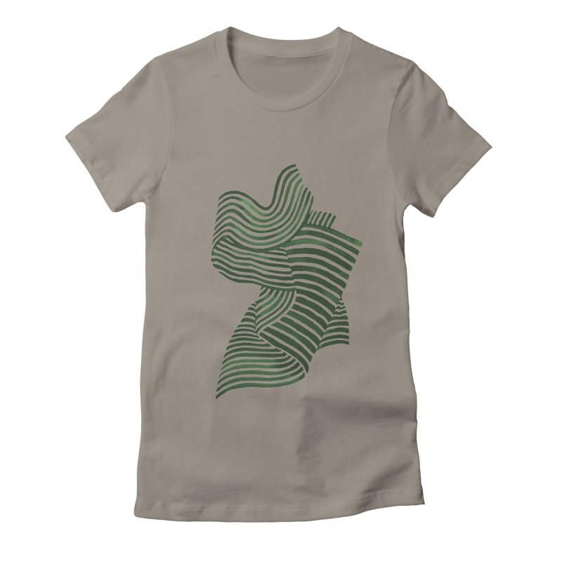 Movement Women's Fitted T-Shirt by Laura OConnor's Artist Shop