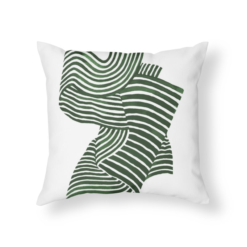 Movement Home Throw Pillow by Laura OConnor's Artist Shop