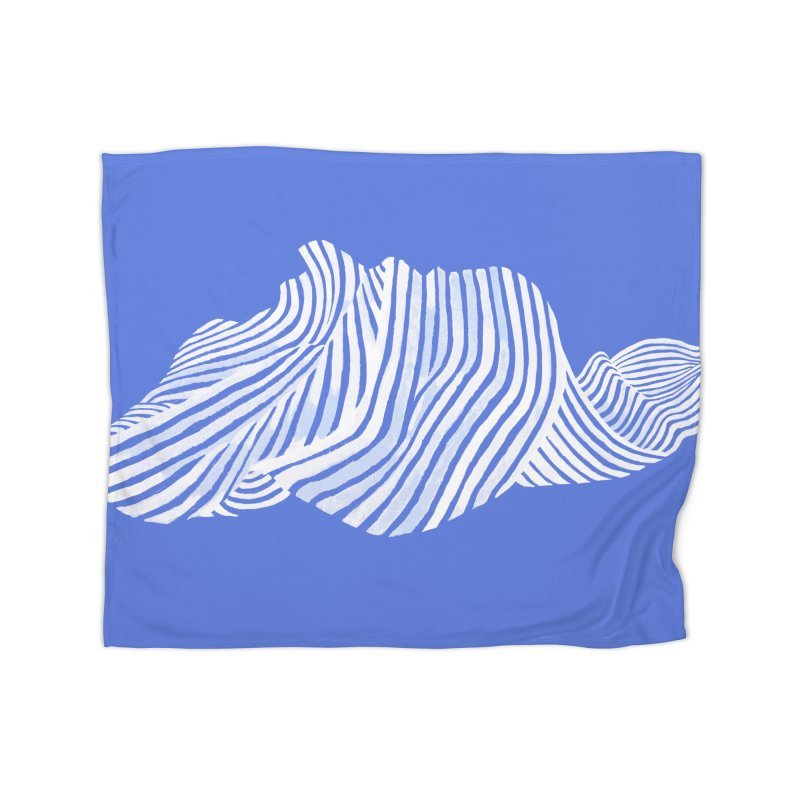 Waves Home Blanket by Laura OConnor's Artist Shop