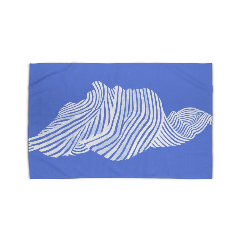 Waves Home Rug by Laura OConnor's Artist Shop