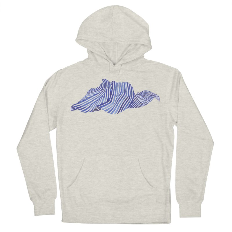 Waves Women's Pullover Hoody by Laura OConnor's Artist Shop