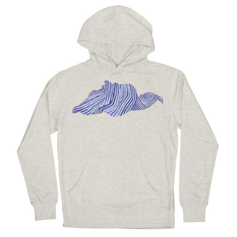 Waves Men's Pullover Hoody by Laura OConnor's Artist Shop