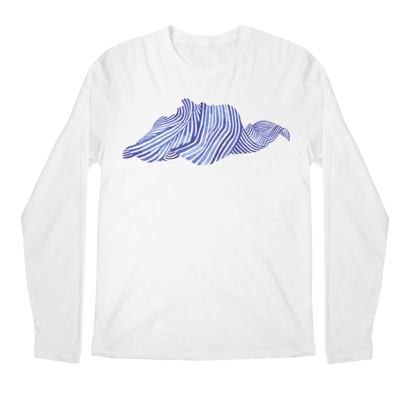 Waves Men's Longsleeve T-Shirt by Laura OConnor's Artist Shop