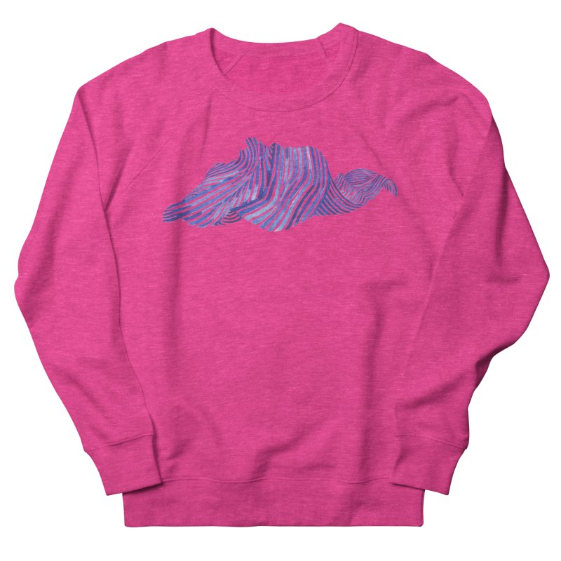 Waves Women's Sweatshirt by Laura OConnor's Artist Shop