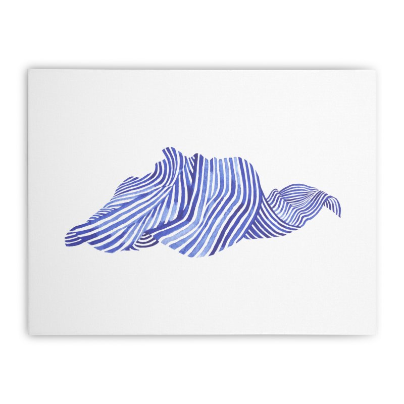 Waves Home Stretched Canvas by Laura OConnor's Artist Shop