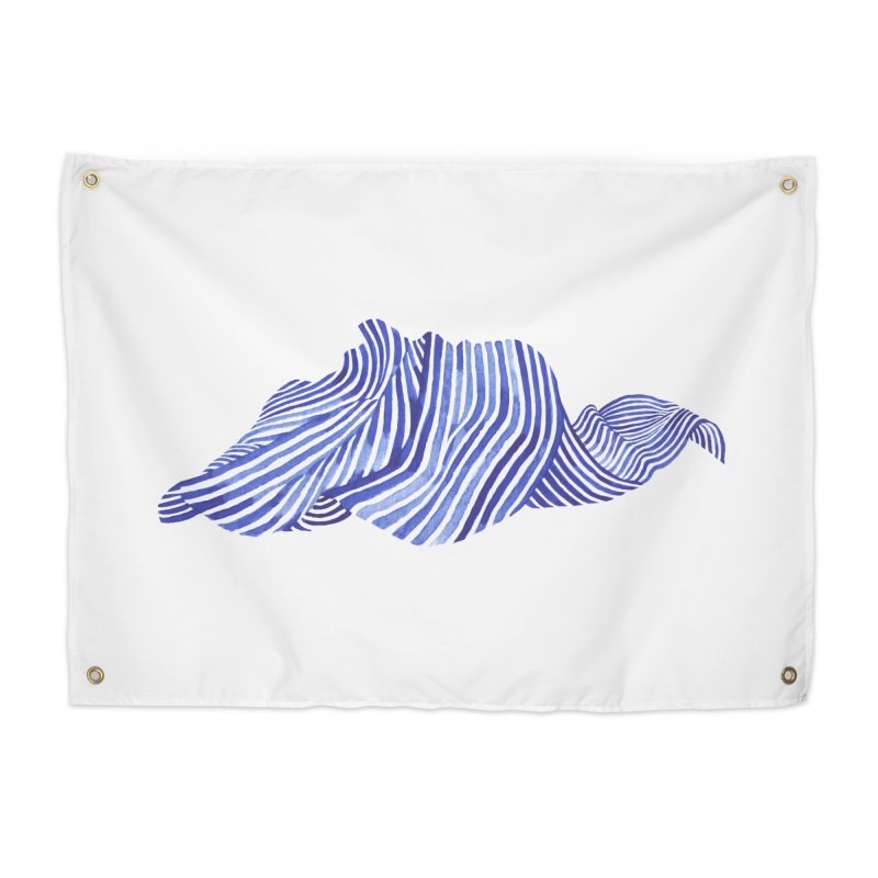 Waves Home Tapestry by Laura OConnor's Artist Shop
