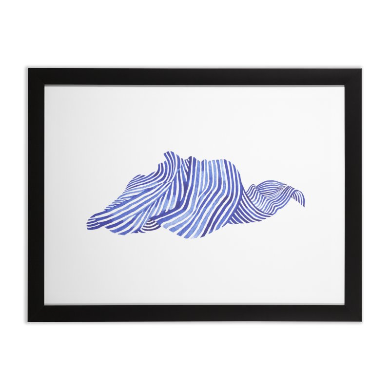 Waves Home Framed Fine Art Print by Laura OConnor's Artist Shop