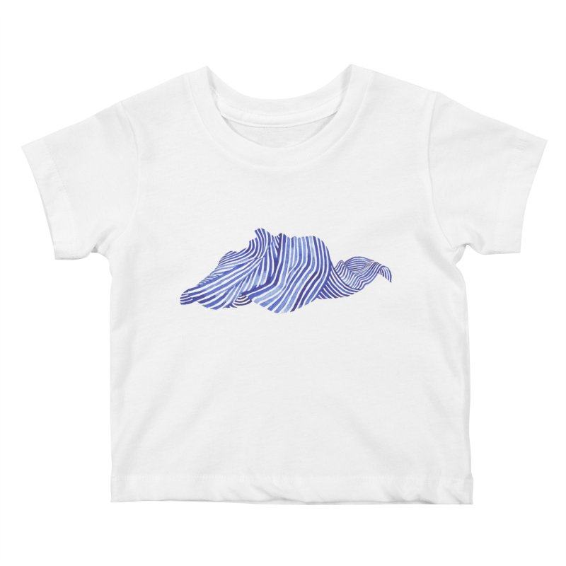 Waves Kids Baby T-Shirt by Laura OConnor
