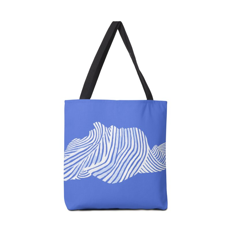 Waves Accessories Bag by Laura OConnor
