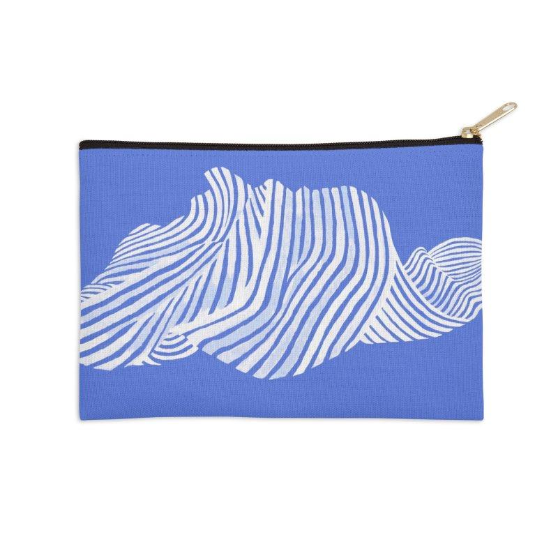 Waves Accessories Zip Pouch by Laura OConnor's Artist Shop