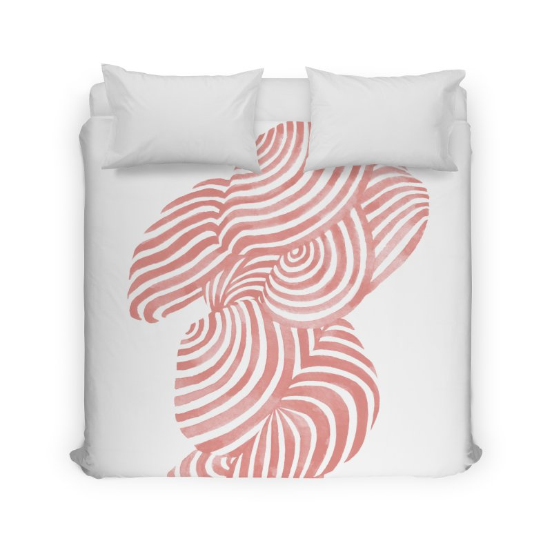 Sea Shells Home Duvet by Laura OConnor's Artist Shop