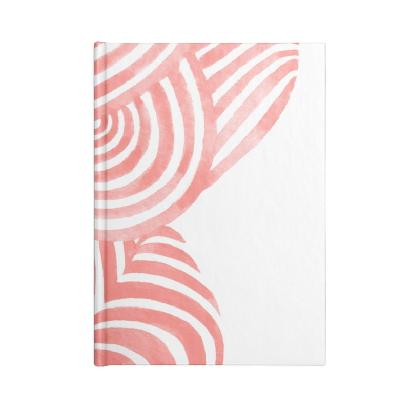 Sea Shells Accessories Notebook by Laura OConnor