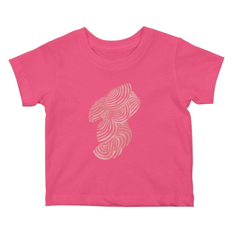 Sea Shells Kids Baby T-Shirt by Laura OConnor