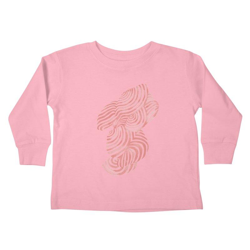 Sea Shells Kids Toddler Longsleeve T-Shirt by Laura OConnor's Artist Shop