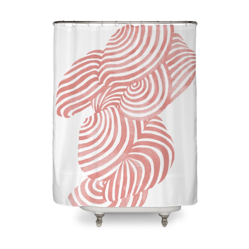 Sea Shells Home Shower Curtain by Laura OConnor