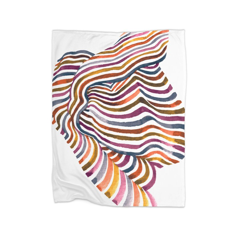 Comfort Home Blanket by Laura OConnor's Artist Shop