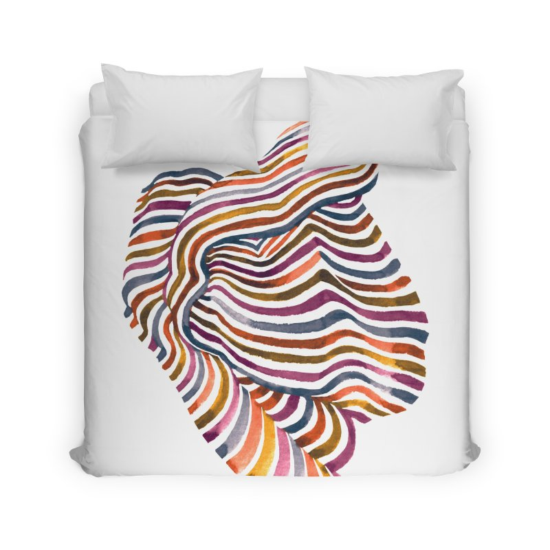 Comfort Home Duvet by Laura OConnor's Artist Shop