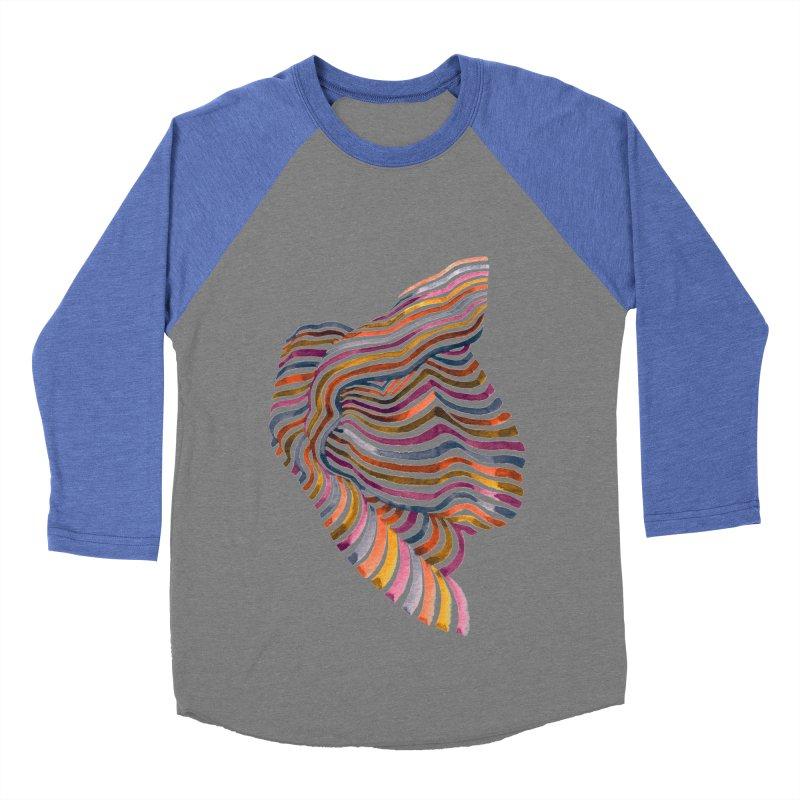 Comfort Men's Baseball Triblend T-Shirt by Laura OConnor's Artist Shop