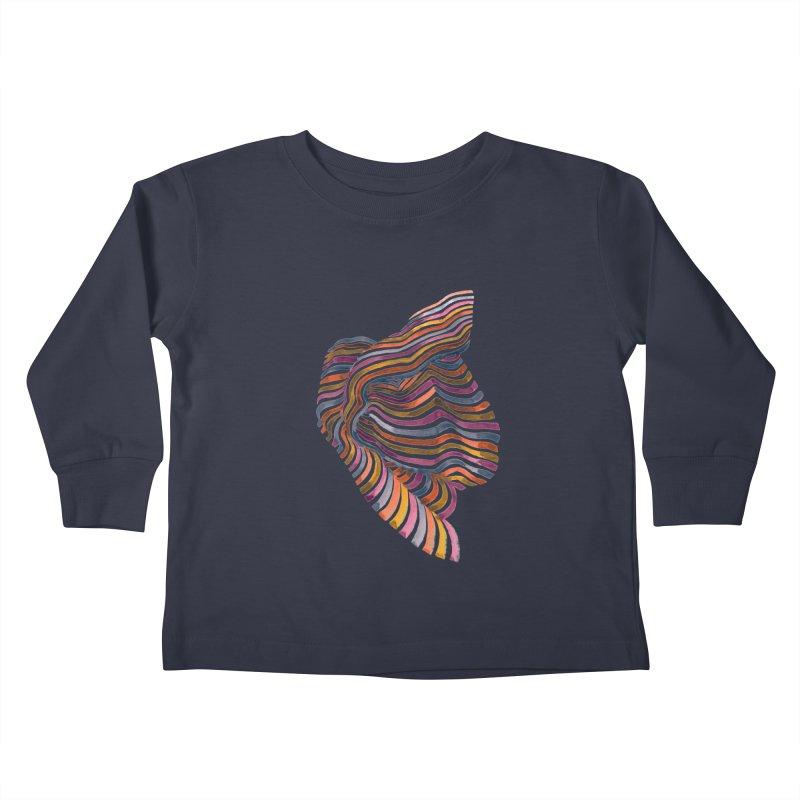 Comfort Kids Toddler Longsleeve T-Shirt by Laura OConnor's Artist Shop