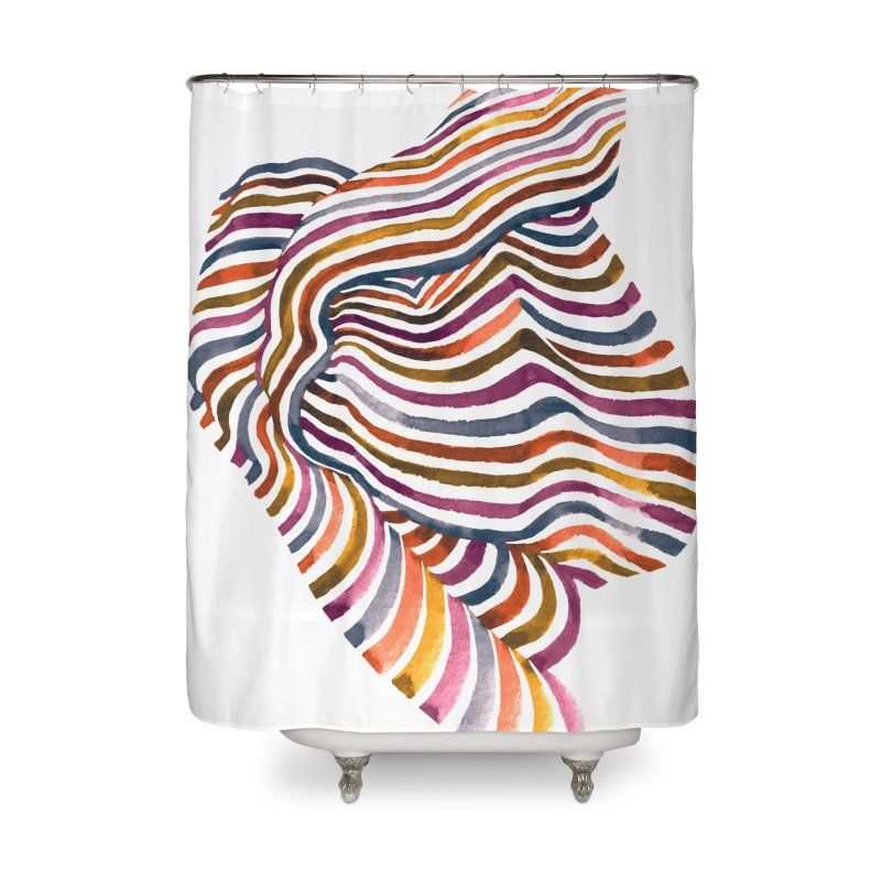 Comfort Home Shower Curtain by Laura OConnor's Artist Shop
