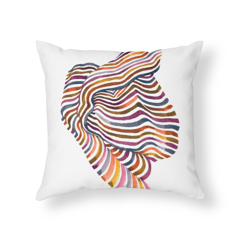 Comfort Home Throw Pillow by Laura OConnor