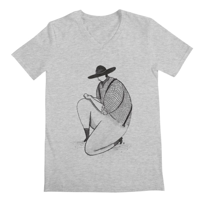 Discovery Men's V-Neck by Laura OConnor's Artist Shop