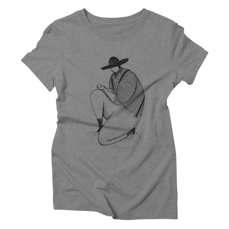 Discovery Women's Triblend T-Shirt by Laura OConnor's Artist Shop