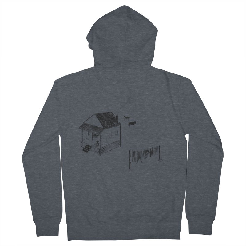 A Moment Men's Zip-Up Hoody by Laura OConnor's Artist Shop