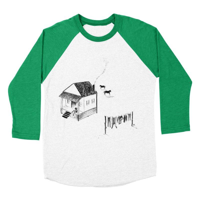 A Moment Women's Baseball Triblend T-Shirt by Laura OConnor's Artist Shop