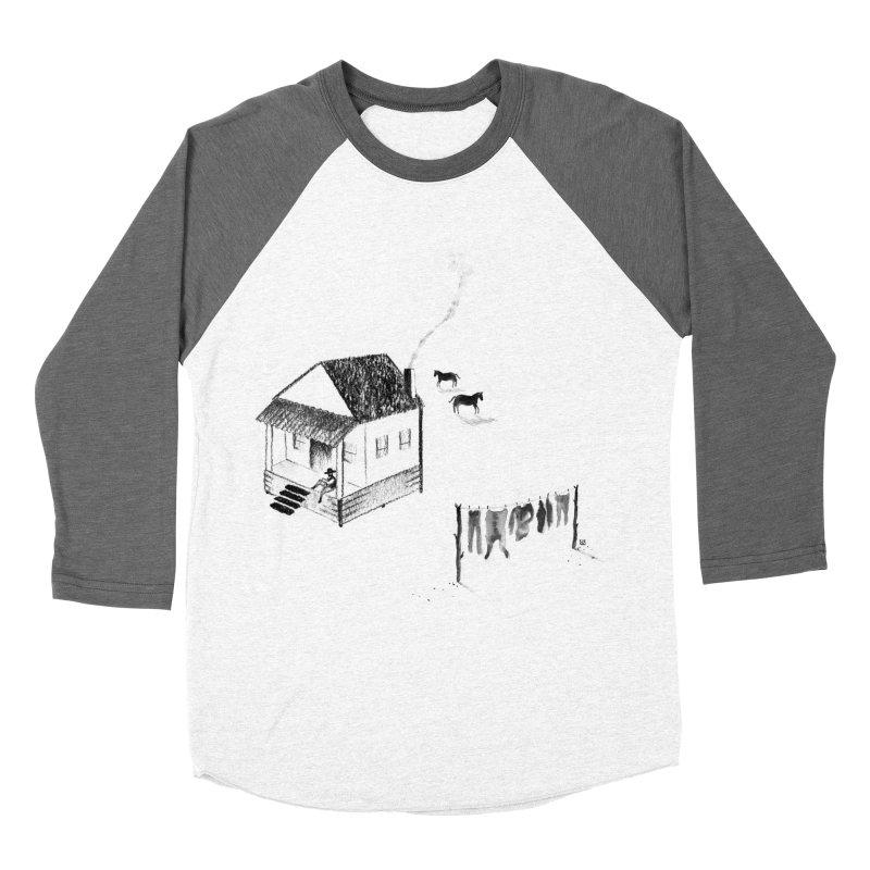 A Moment Men's Baseball Triblend T-Shirt by Laura OConnor's Artist Shop