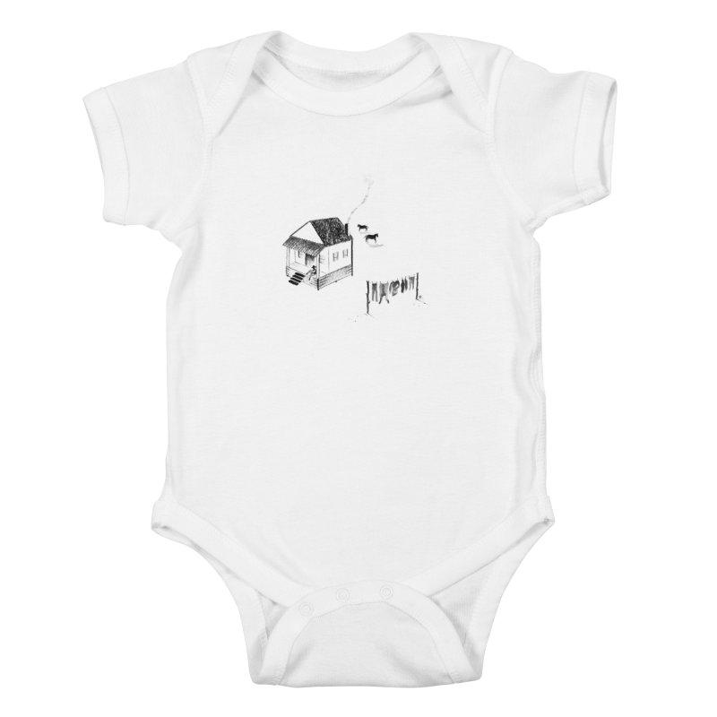 A Moment Kids Baby Bodysuit by Laura OConnor's Artist Shop