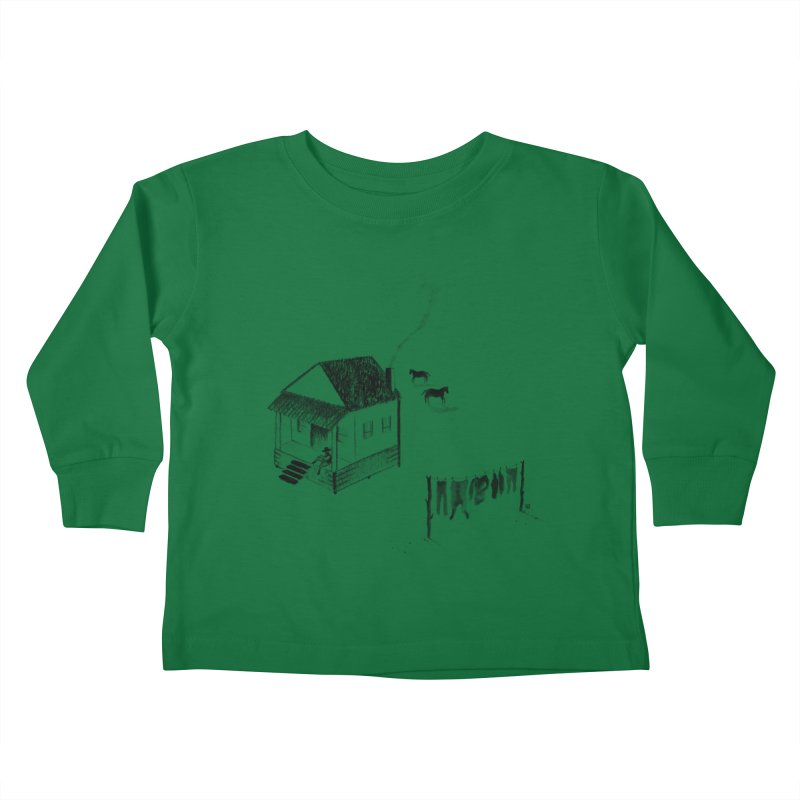A Moment Kids Toddler Longsleeve T-Shirt by Laura OConnor's Artist Shop