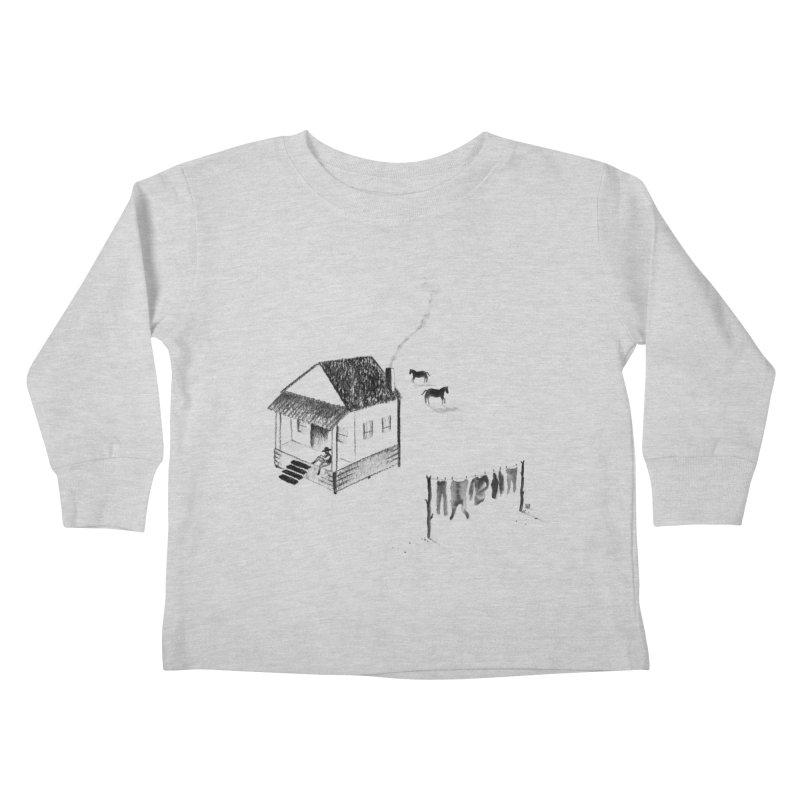 A Moment Kids Toddler Longsleeve T-Shirt by Laura OConnor's Artist Shop