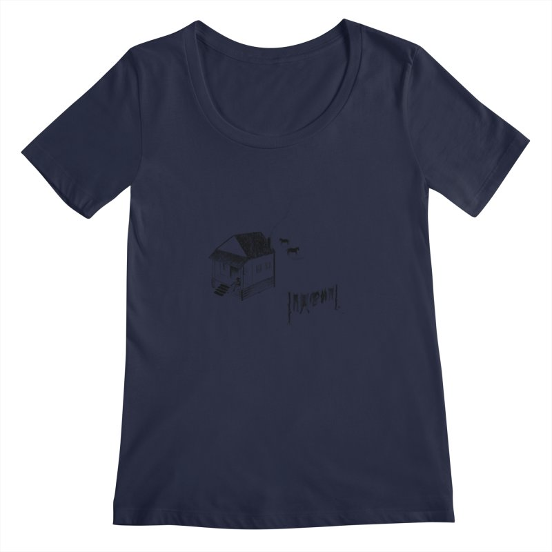 A Moment Women's Scoopneck by Laura OConnor's Artist Shop