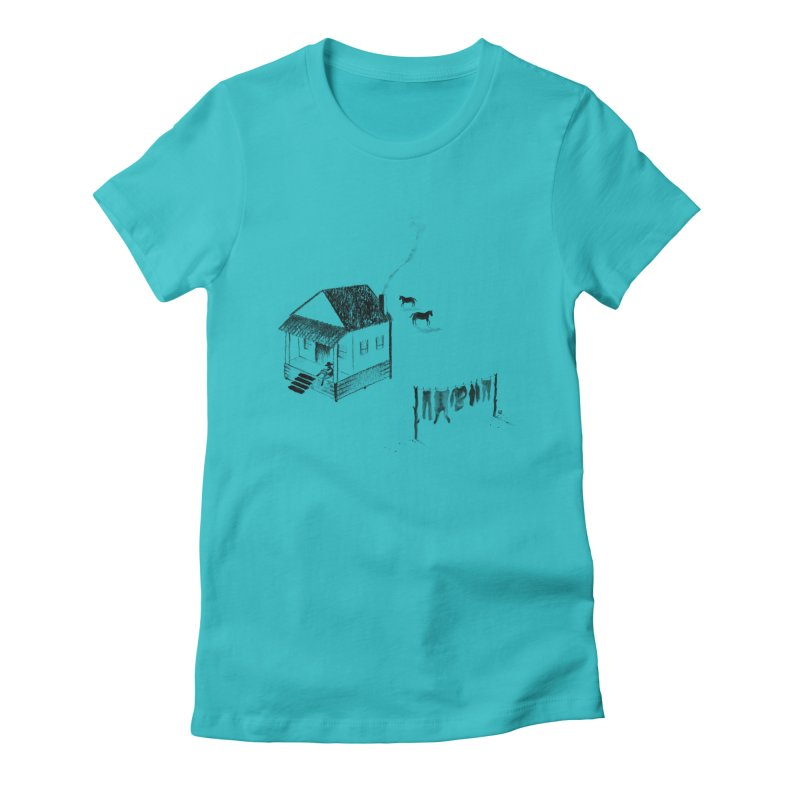 A Moment Women's Fitted T-Shirt by Laura OConnor's Artist Shop