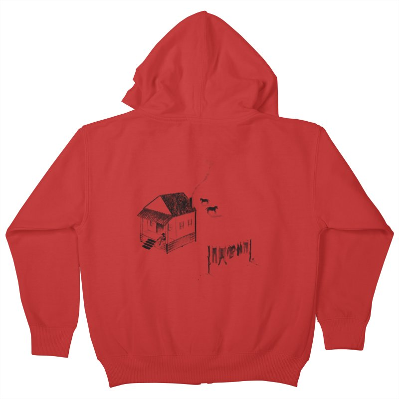 A Moment Kids Zip-Up Hoody by Laura OConnor's Artist Shop