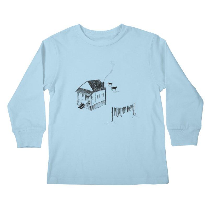 A Moment Kids Longsleeve T-Shirt by Laura OConnor's Artist Shop