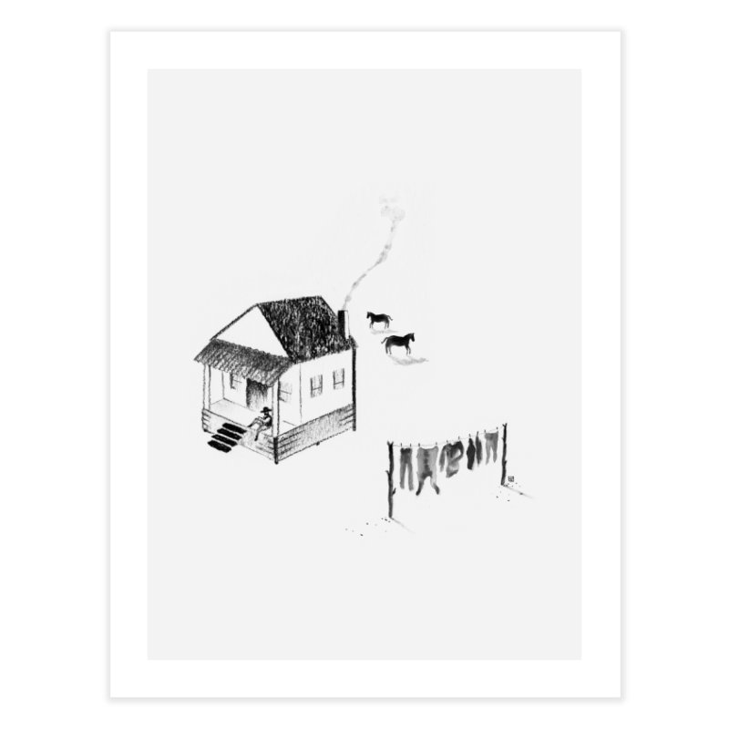 A Moment Home Fine Art Print by Laura OConnor's Artist Shop