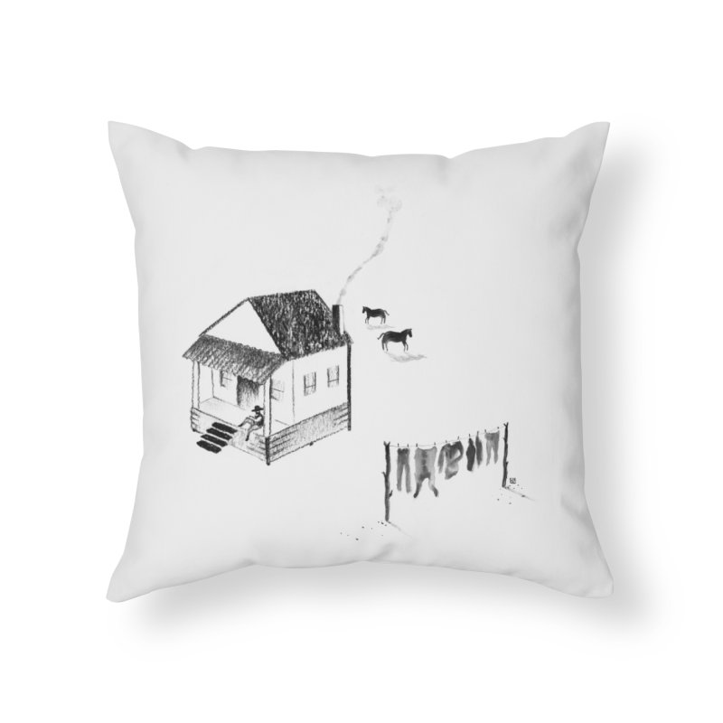 A Moment Home Throw Pillow by Laura OConnor's Artist Shop