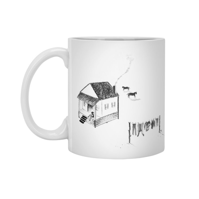 A Moment in Standard Mug White by Laura OConnor's Artist Shop