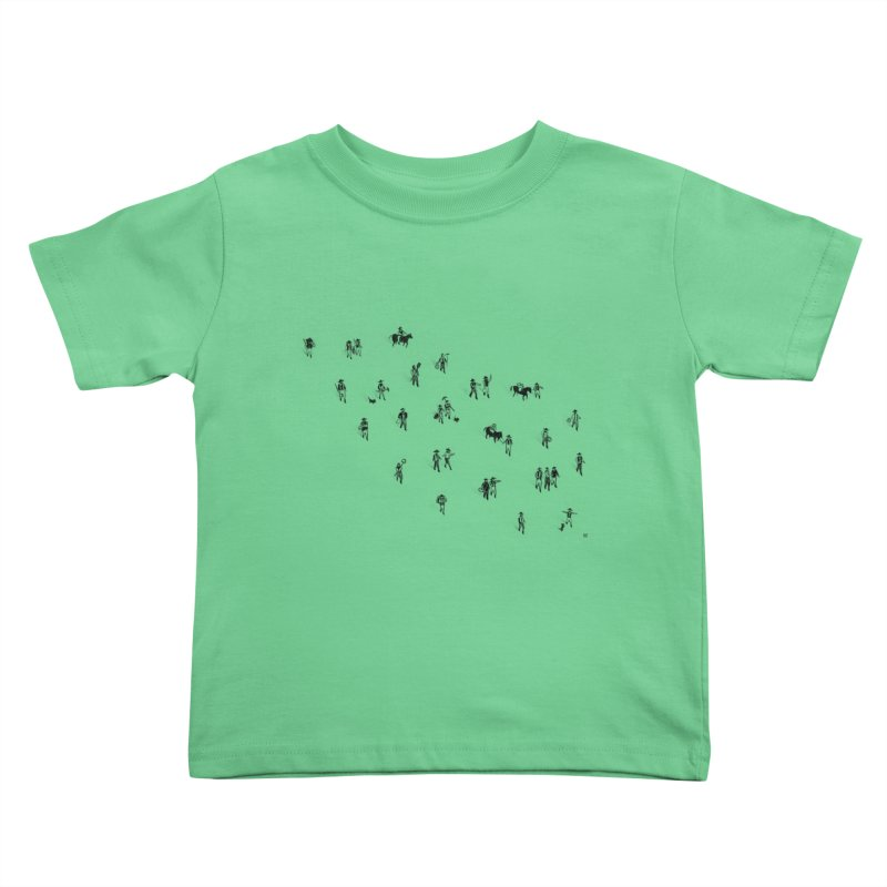 Going Places Kids Toddler T-Shirt by Laura OConnor's Artist Shop