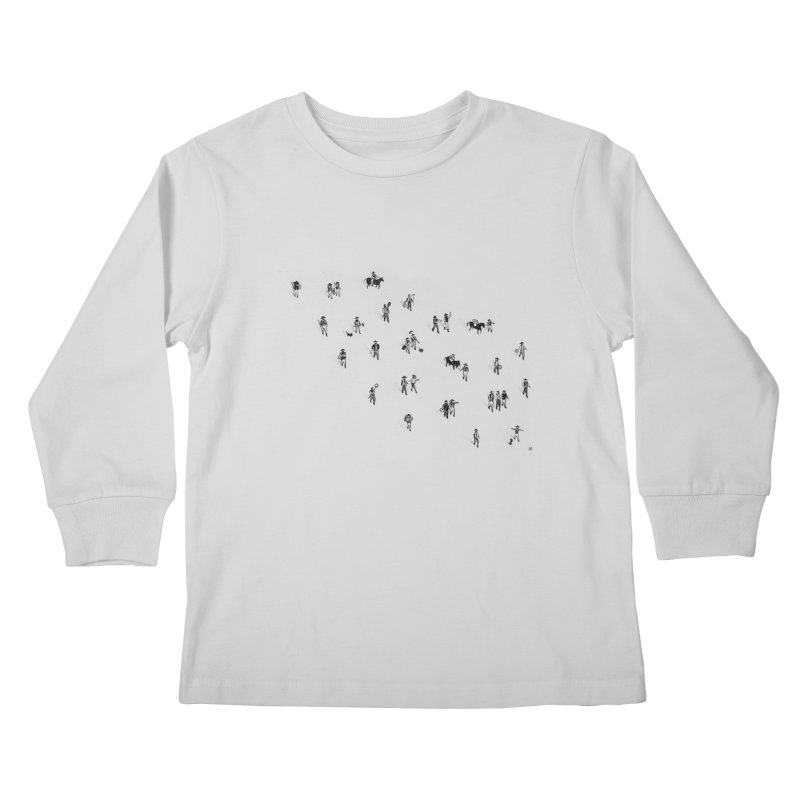 Going Places Kids Longsleeve T-Shirt by Laura OConnor's Artist Shop