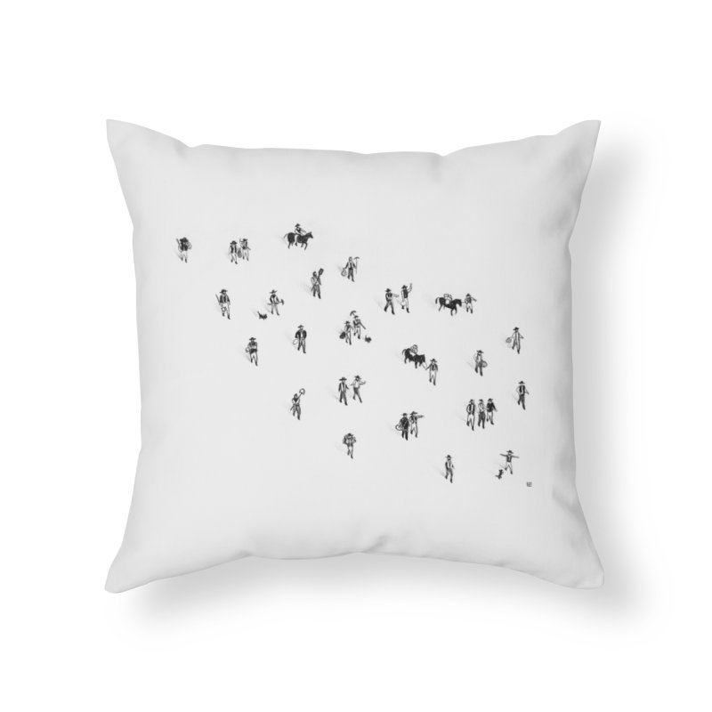 Going Places Home Throw Pillow by Laura OConnor's Artist Shop