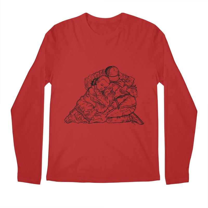 Stranger Things Men's Longsleeve T-Shirt by Laura OConnor's Artist Shop