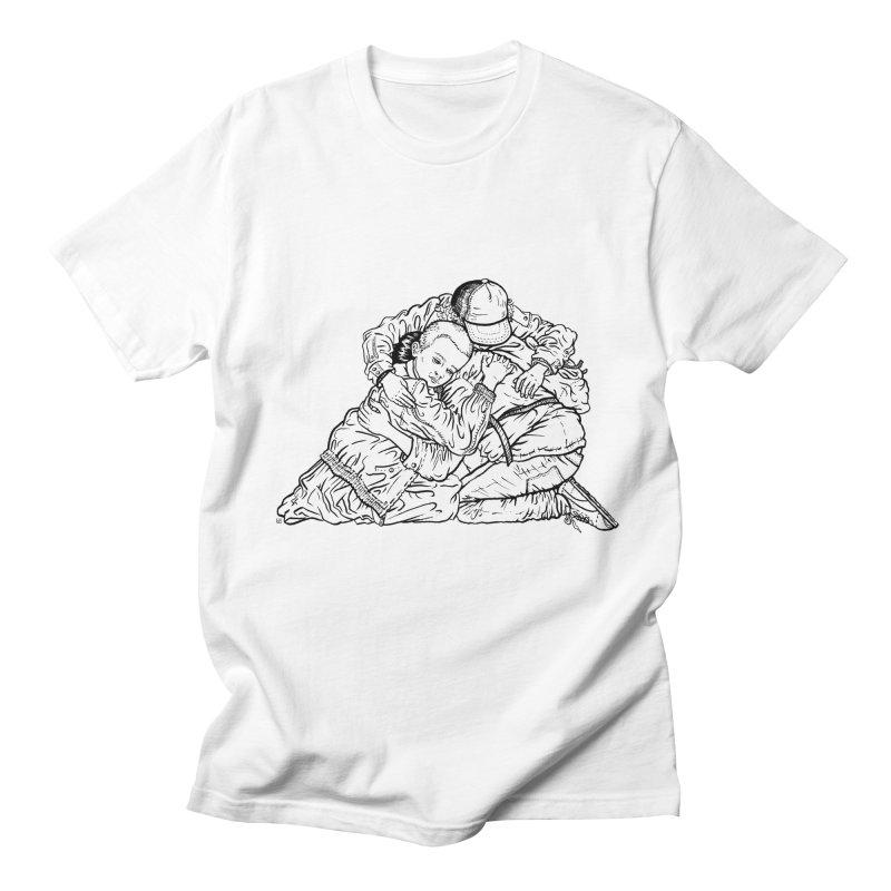 Stranger Things Men's T-shirt by Laura OConnor's Artist Shop