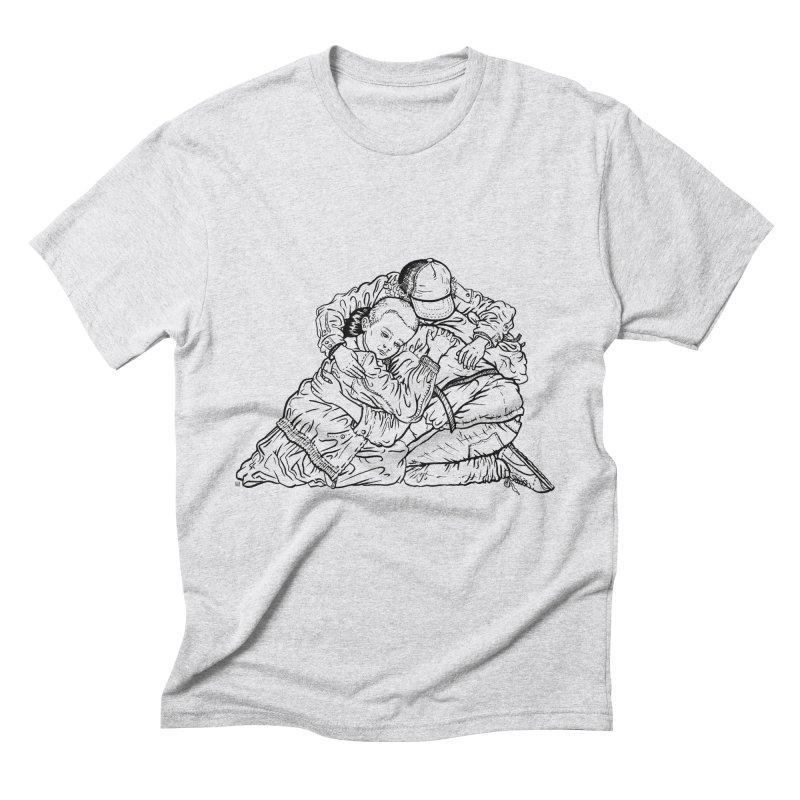 Stranger Things Men's Triblend T-Shirt by Laura OConnor's Artist Shop