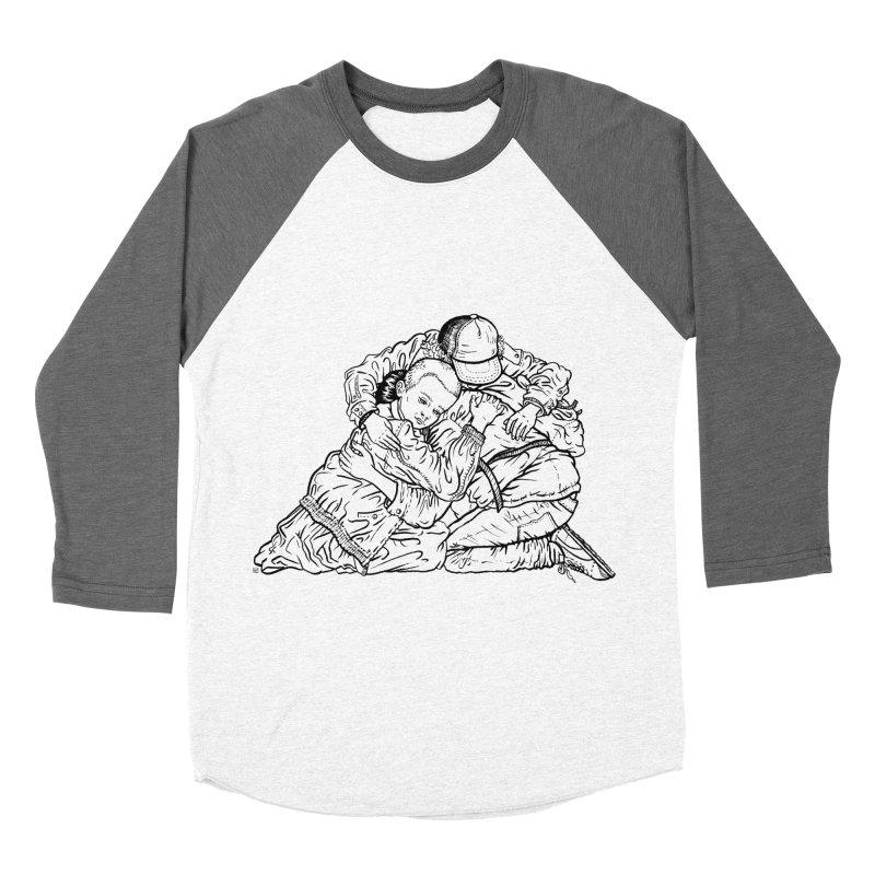 Stranger Things Men's Baseball Triblend T-Shirt by Laura OConnor's Artist Shop