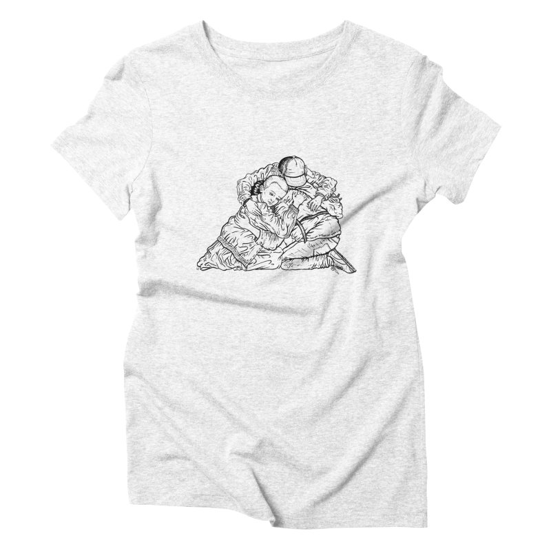 Stranger Things Women's Triblend T-shirt by Laura OConnor's Artist Shop