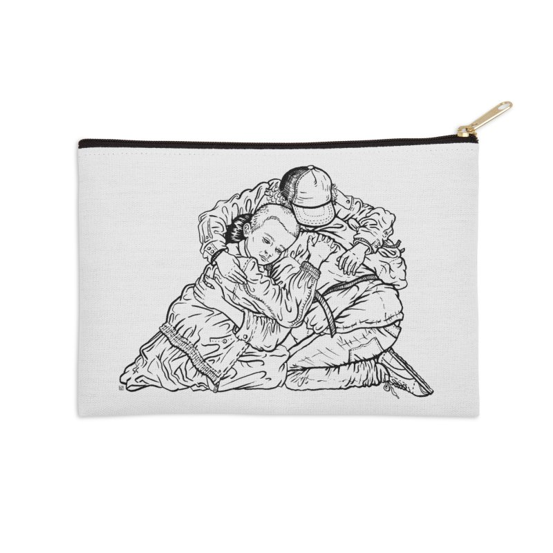 Stranger Things in Zip Pouch by Laura OConnor's Artist Shop